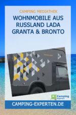 Wohnmobile aus Russland LADA Granta & Bronto