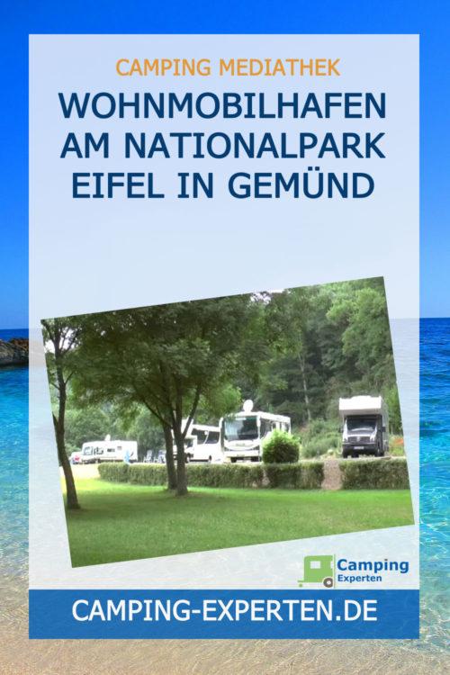 Wohnmobilhafen am Nationalpark Eifel in Gemünd