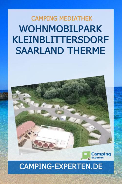 Wohnmobilpark Kleinblittersdorf Saarland Therme