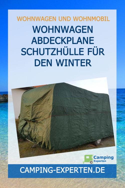 Wohnwagen Abdeckplane Schutzhülle für den Winter
