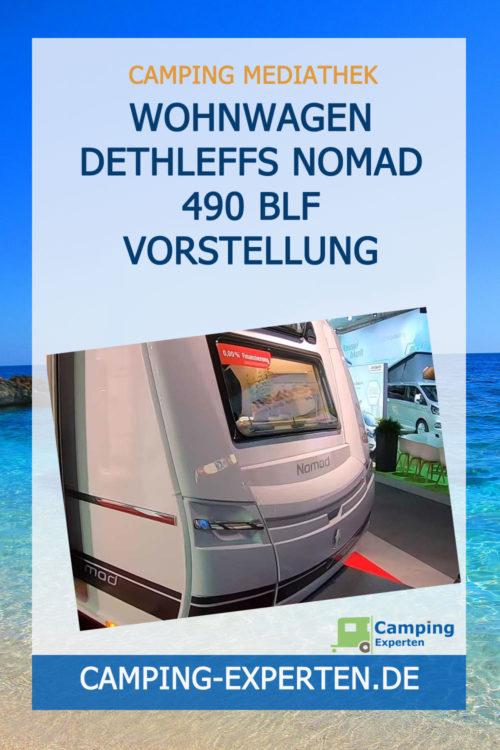 Wohnwagen Dethleffs Nomad 490 BLF Vorstellung