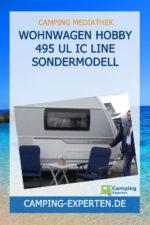 Wohnwagen Hobby 495 UL IC Line Sondermodell