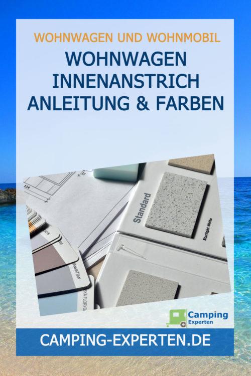 Wohnwagen Innenanstrich Anleitung & Farben
