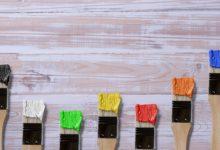 Bild von Wohnwagen Möbel streichen und mit Farben verschönern
