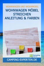 Wohnwagen Möbel streichen Anleitung & Farben