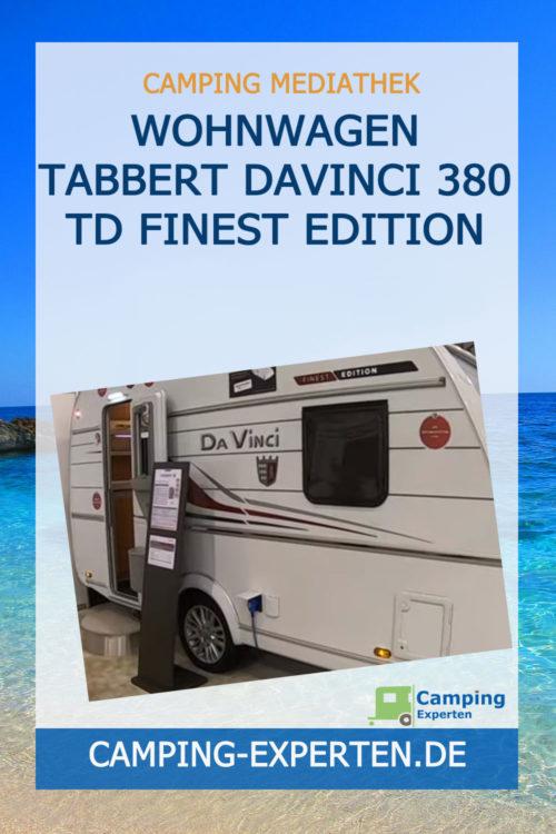 Wohnwagen Tabbert DaVinci 380 TD Finest Edition