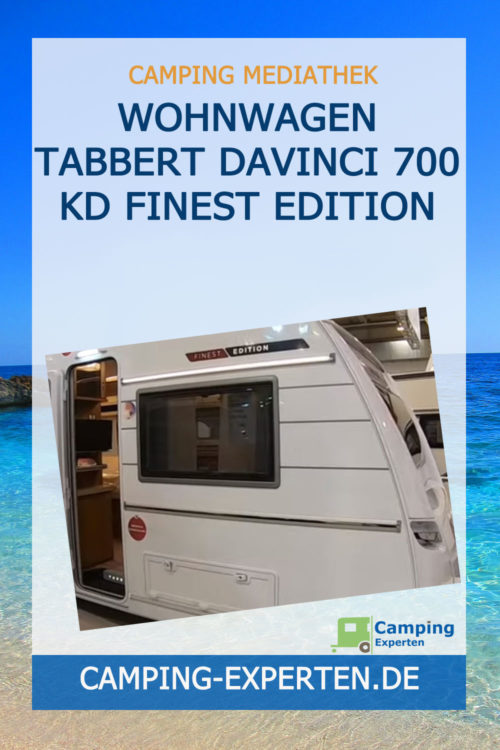 Wohnwagen Tabbert DaVinci 700 KD Finest Edition