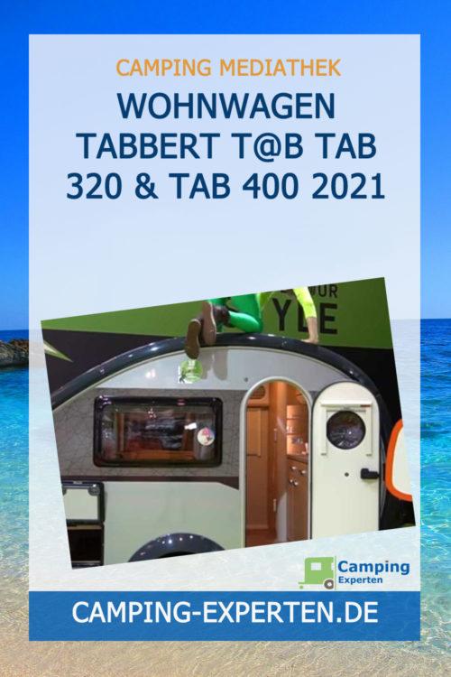 Wohnwagen Tabbert T@B Tab 320 & Tab 400 2021