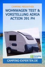 Wohnwagen Test & Vorstellung ADRIA ACTION 391 PH