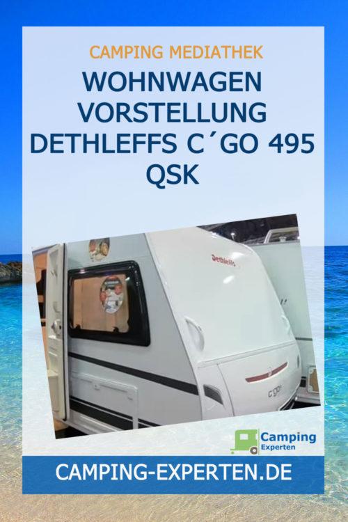 Wohnwagen Vorstellung Dethleffs C´GO 495 QSK
