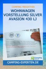 Wohnwagen Vorstellung Silver Avasion 430 LJ
