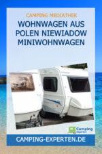 Wohnwagen aus Polen NIEWIADOW Miniwohnwagen