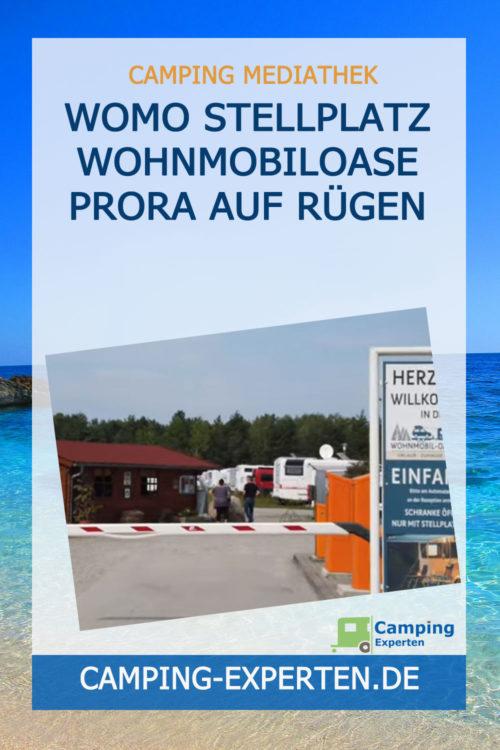 Womo Stellplatz Wohnmobiloase Prora auf Rügen